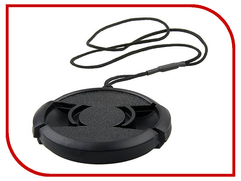 Аксессуар 55mm - Flama / Fujimi / Kipon / Massa lens cap N55/T55F FJLC-F55 с веревочкой! 1296 universal 52mm 58mm 67mm lens cap holder buckle for slr camera black