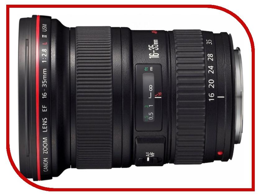 Объектив Canon EF 16-35mm f/2.8L II USM 35mm f2 is usm canon