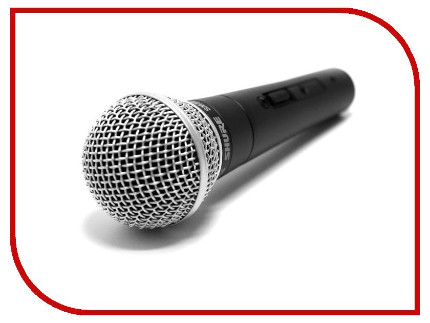 Микрофон SHURE SM58S микрофон shure sm58 ok ace
