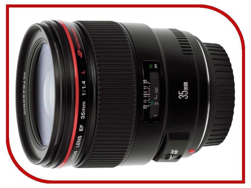 Объектив Canon EF 35 mm F/1.4 L USM<br>
