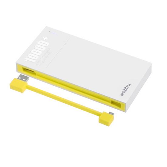 Аккумулятор Nobby Energy PB-003 10000 mAh Yellow