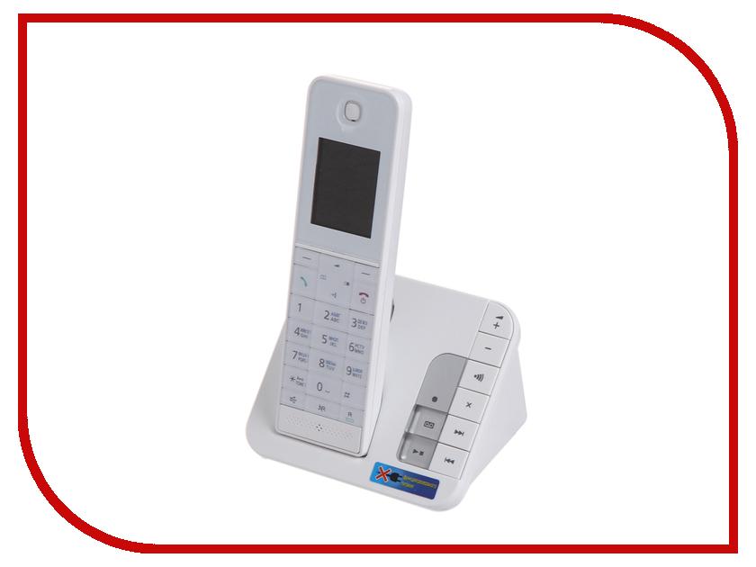 Радиотелефон Panasonic KX-TGH220 RUW телефон беспроводной dect panasonic kx tgh220