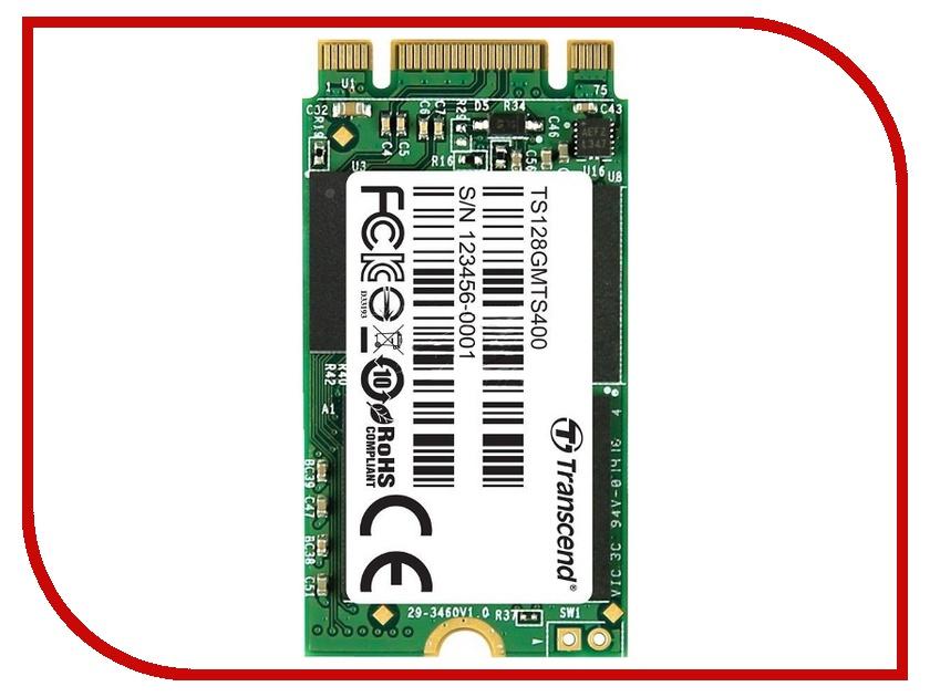 Жесткий диск 128Gb - Transcend TS128GMTS400<br>