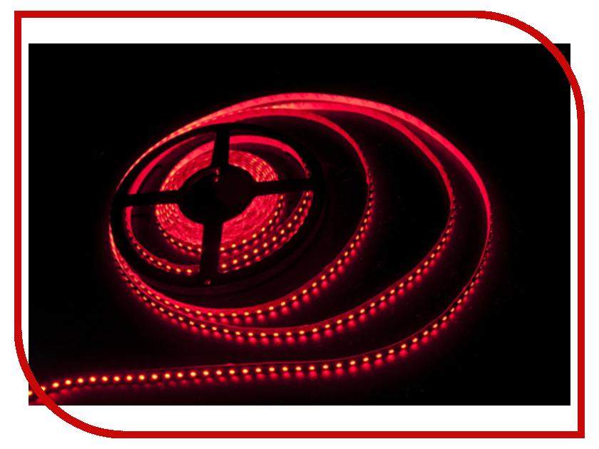 Светодиодная лента LUNA LS 3528 120led/m 12V 48W 5m IP20 Red 60055<br>