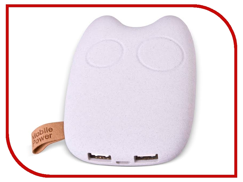 Аккумулятор Dicom PurrBank 7800 mAh PB-7800 White<br>