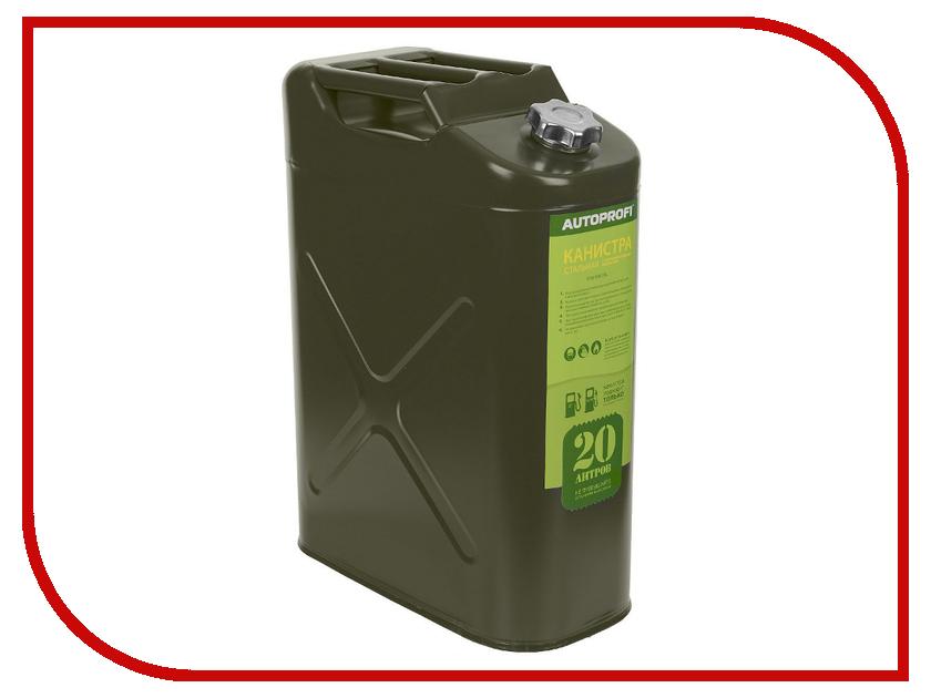 Канистра Autoprofi KAN-100 20L канистра стальная autoprofi 20 литров горизонтальная kan 500 20l