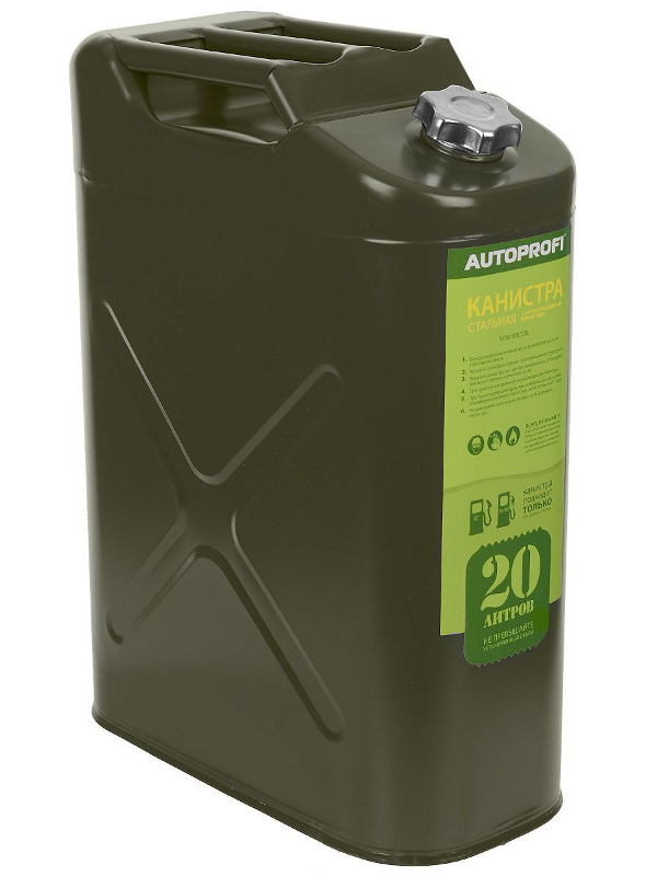 Канистра Autoprofi KAN-100 20L<br>