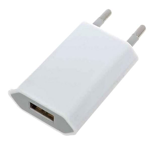 Зарядное устройство Rexant 1000mA for iPhone / iPod White 18-1194