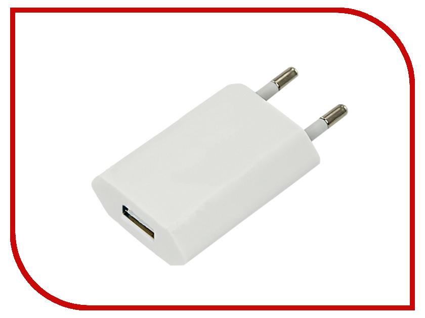 Зарядное устройство Rexant 1000mA for iPhone / iPod White 18-1194-1
