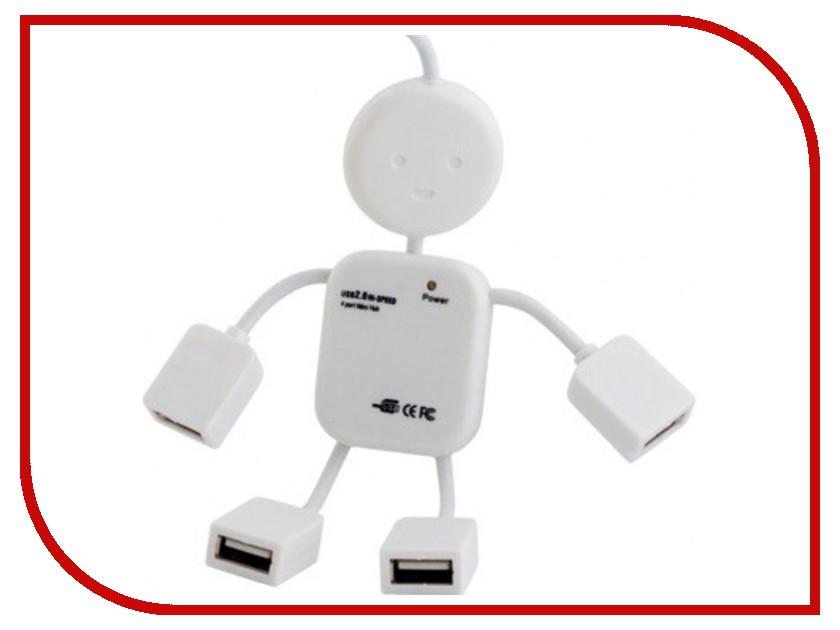 Хаб USB Rexant 18-4102 4 ports White