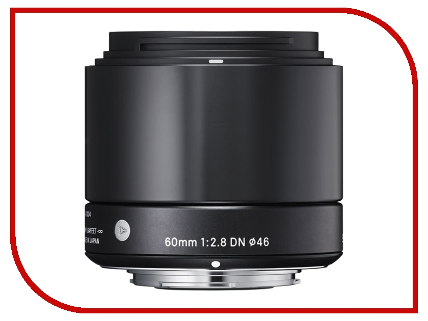 Объектив Sigma Micro 4/3 AF 60 mm F/2.8 DN ART for Micro Four Thirds Black