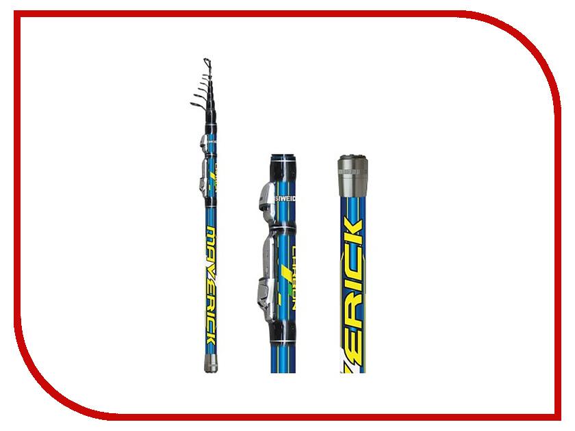 Удилище Siweida SWD Maverick 4.5m IM8 2411045 удилище фидерное swd basic 3 6м до 180г композит 2439014