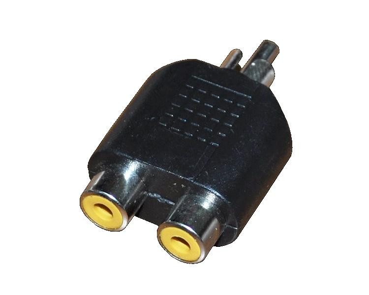 Аксессуар Rexant Plug RCA - 2x Jack RCA 14-0421-01