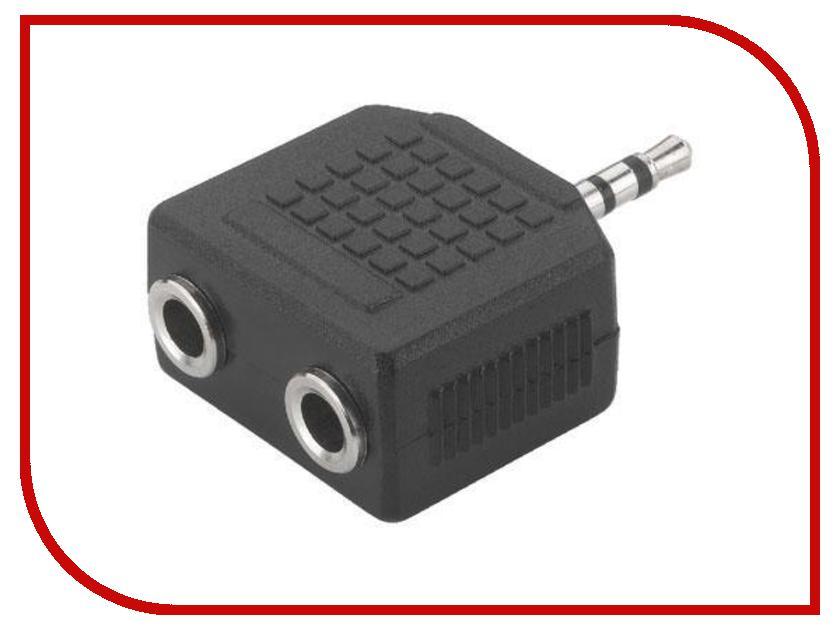 Аксессуар Rexant Plug 3.5mm - Jack 2x 3.5mm 14-0423-01 делитель аксессуар rexant 34 0586