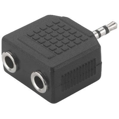 Аксессуар Rexant Plug 3.5mm - Jack 2x 14-0423-01 делитель