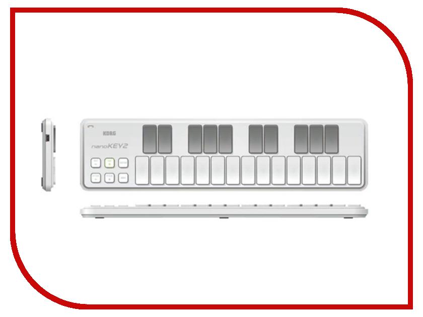 MIDI-контроллер KORG nanoKEY2 White