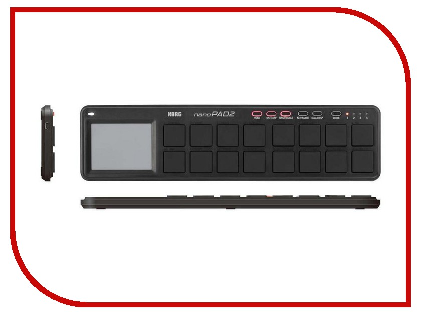 MIDI-контроллер KORG nanoPAD2 Black