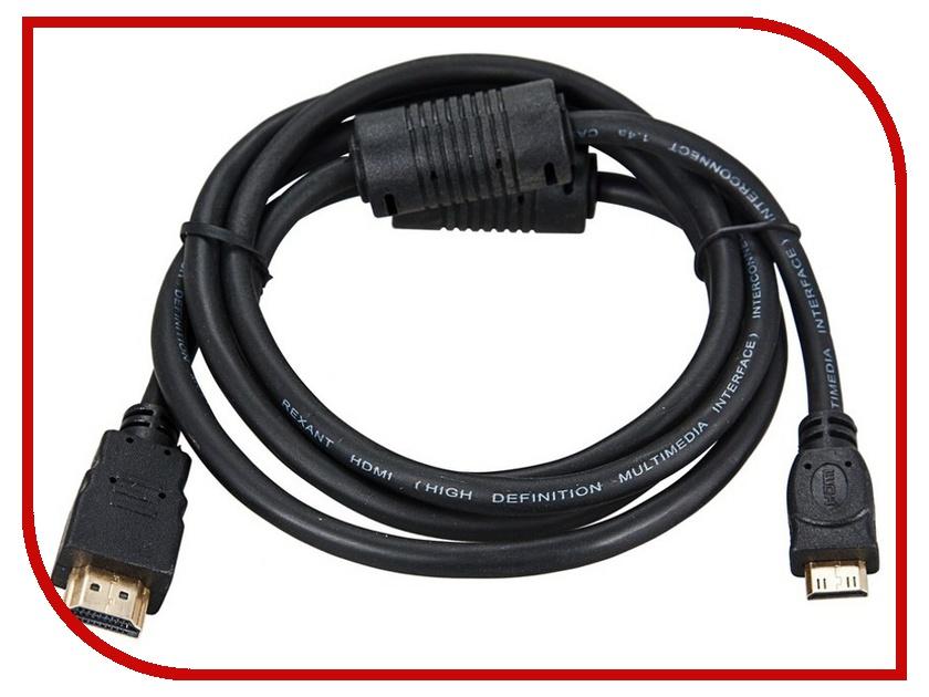 ��������� Rexant HDMI - mini HDMI Gold 3m � ��������� 17-6125-01