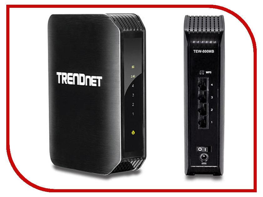 Wi-Fi роутер TRENDnet TEW-800MB<br>