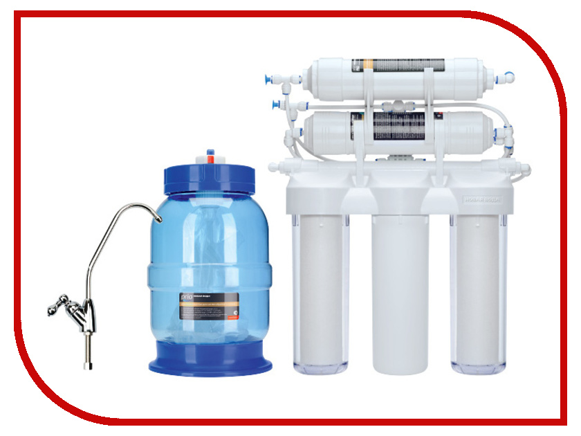 Фильтр для воды Новая Вода Praktic Osmos OU500 фильтр для воды новая вода expert osmos stream mod600