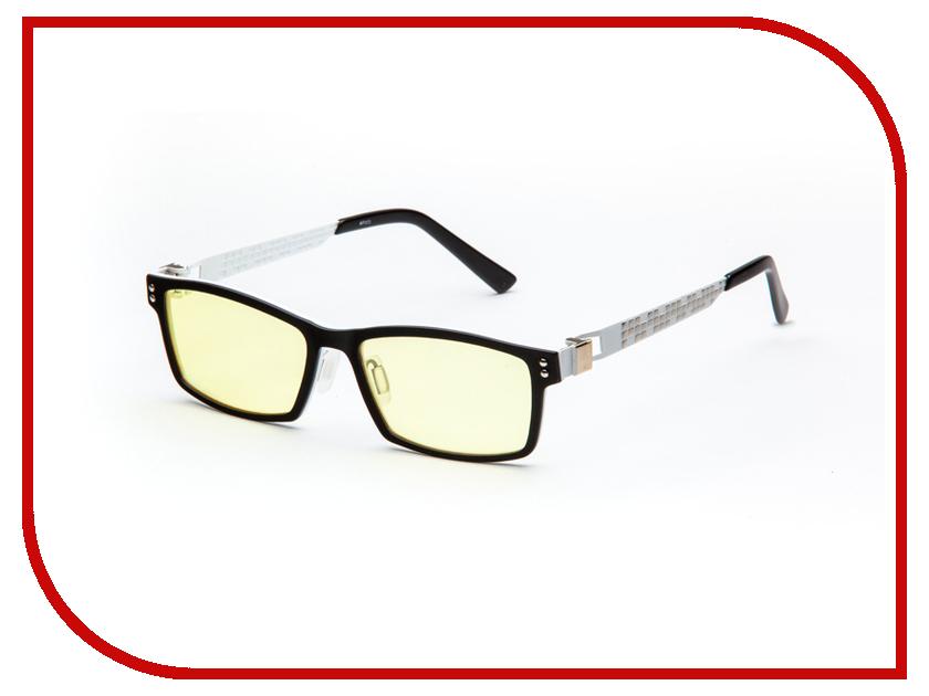 Очки компьютерные SPG Titanium AF073 Black-White