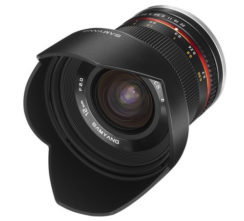 Объектив Samyang Sony E NEX 12 mm T2.2 NCS CS VDSLR Cine