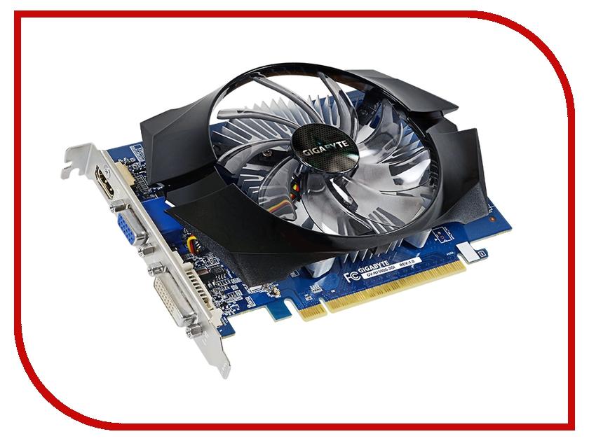 Видеокарта GigaByte GeForce GT 730 902Mhz PCI-E 2.0 2048Mb 5000Mhz 64 bit DVI HDMI HDCP GV-N730D5-2GI видеокарта 2048mb gigabyte gt730 pci e gddr5 64bit vga hdmi dvi hdcp gv n730d5 2gi retail