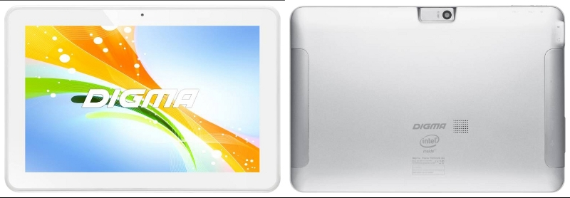 ������� Digma Plane 10.3 3G Silver White 875366 MTK8382 1.3 GHz/1024Mb/8Gb/GPS/Wi-Fi/3G/Bluetooth/Cam/10.1/1280x800/Android<br>
