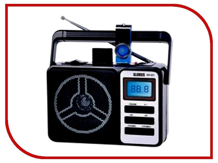 Радиоприемник Globus GR-221 Black