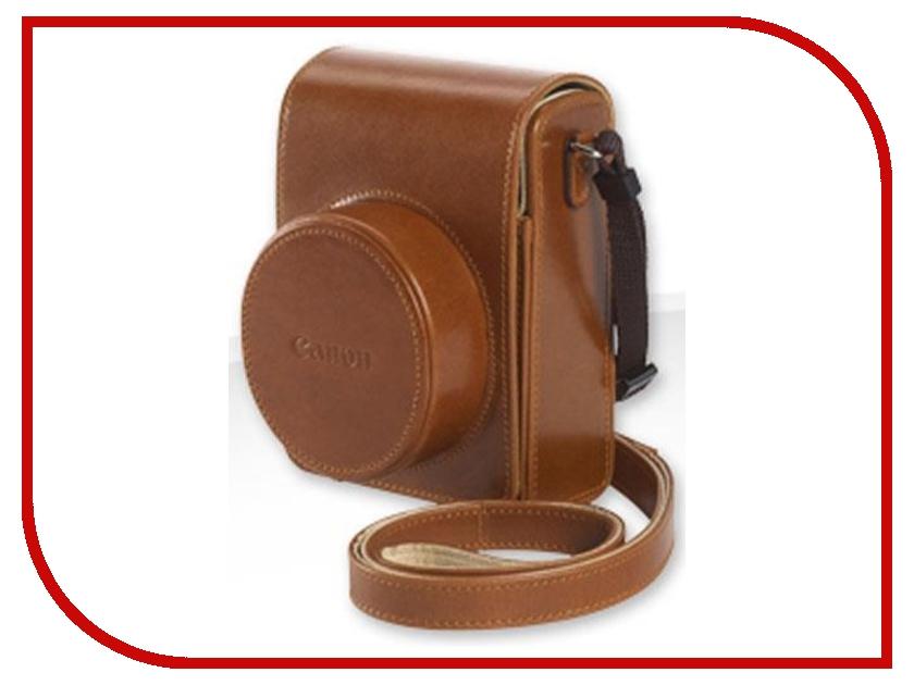 Сумка Canon PowerShot DCC-1820 Leather Case for Powershot G1 X Mark II Brown<br>