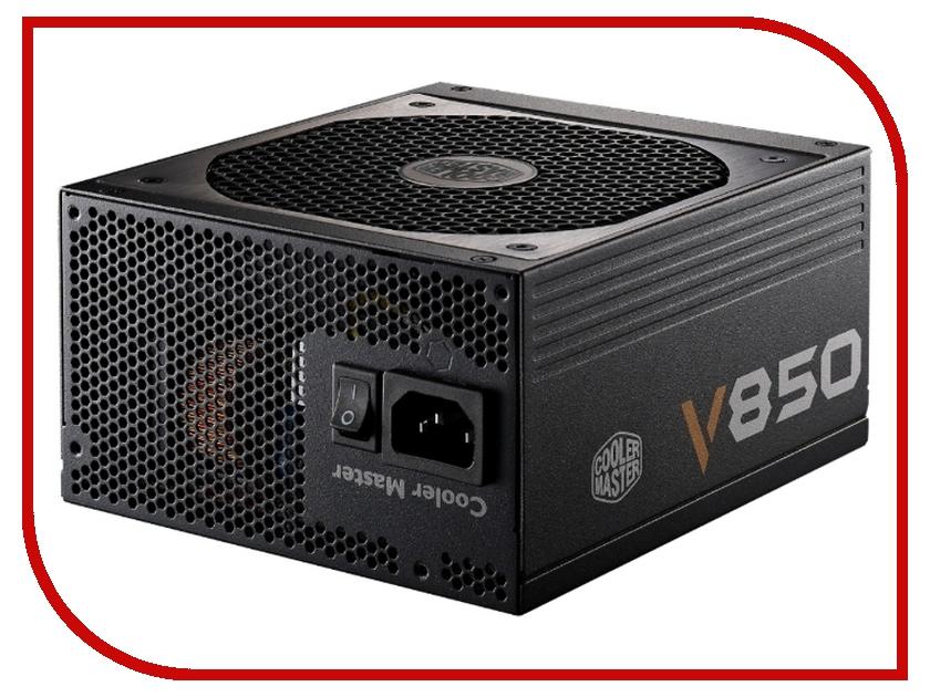 Блок питания Cooler Master V 850 850W RS850-AFBAG1-EU блок питания cooler master v550 modular 550w rs550 afbag1 eu