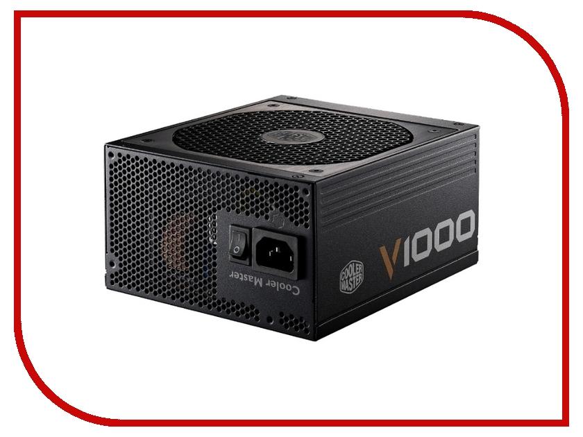 Блок питания Cooler Master V 1000 1000W RSA00-AFBAG1-EU v strom black m6 lower fork mount kit with l lights bracket for suzuki v strom 650 v strom 650xt v strom 1000