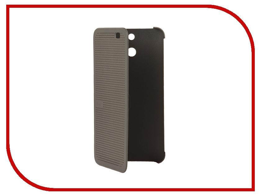 Аксессуар Чехол HTC One E8 Dot Case HC M110 Grey<br>