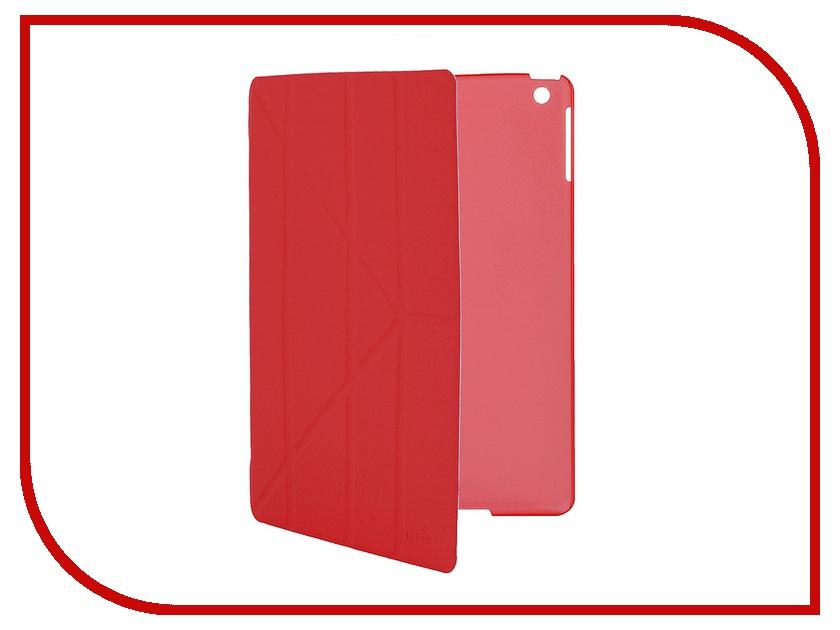Аксессуар Чехол IT Baggage для iPad Air hard case иск.кожа Red ITIPAD501-3<br>