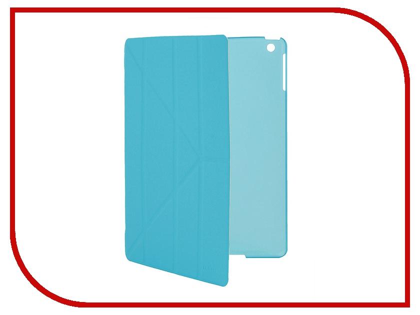 Аксессуар Чехол IT Baggage для iPad Air hard case иск.кожа Blue ITIPAD501-4