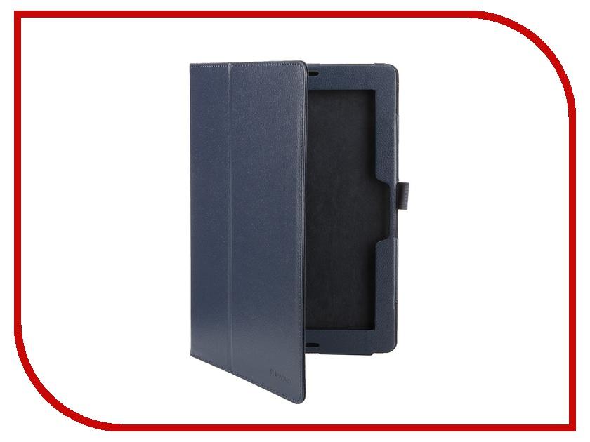 Аксессуар Чехол IT Baggage for Lenovo IdeaTab 10 A7600 A10-70 иск. кожа Blue ITLNA7602-4