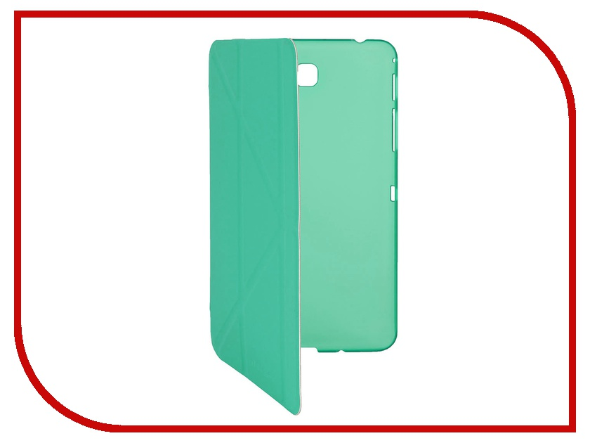 Аксессуар Чехол Galaxy Tab 4 8.0 IT Baggage иск.кожа Turquoise ITSSGT4801-6
