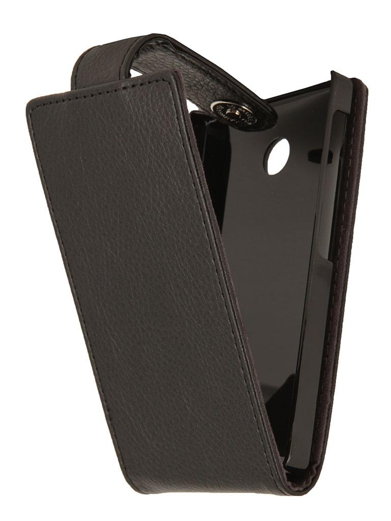Аксессуар Чехол Nokia X / X+ iBox Classic Black