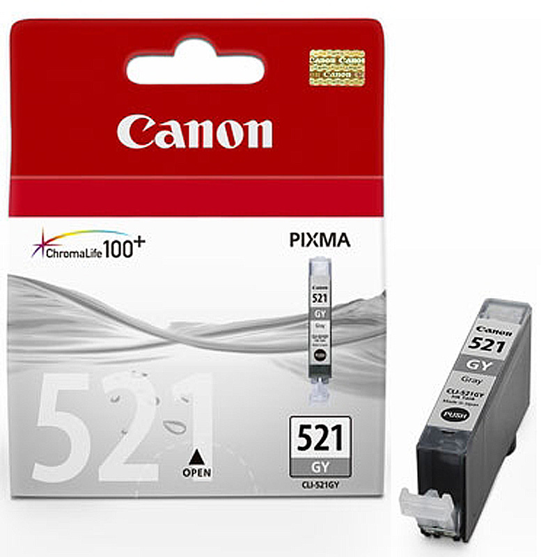 Картридж Canon CLI-521GY Grey для Pixma iP3600/iP4600/MP540/MP620/MP630/MP980 2937B004 матрас beautyson белисса плюс 180x195