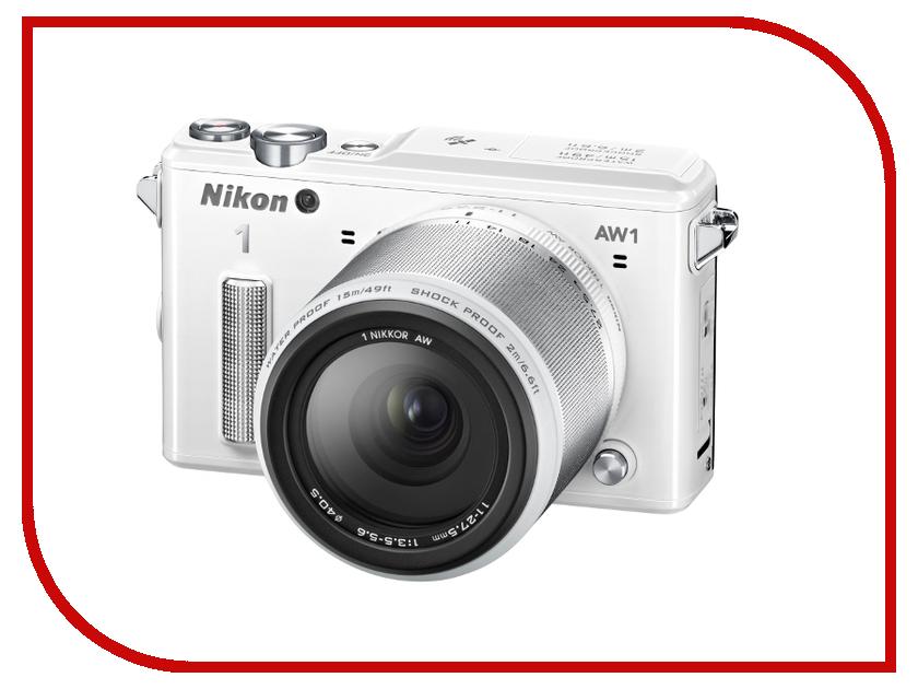 ����������� Nikon 1 AW1 Kit 11-27.5 mm F/3.5-5.6 White
