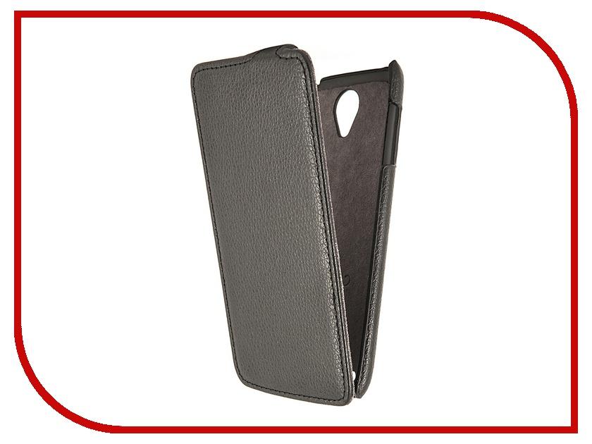 Аксессуар Чехол Lenovo S650 Partner Flip-case Black