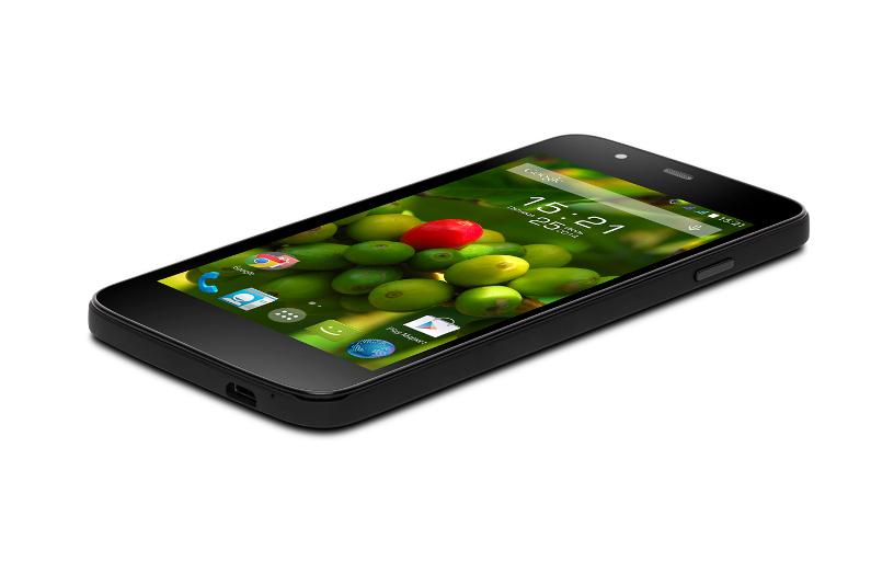 Купить Сотовые телефоны, смартфоны и фаблеты   Сотовый телефон Fly IQ4414 EVO Tech 3 Quad Black