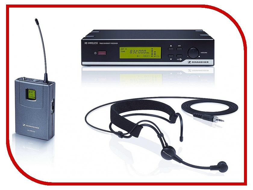 Радиомикрофон Sennheiser XSW 52-Aрадиосистемы и микрофоны<br><br>