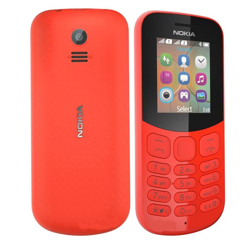 Сотовый телефон Nokia 130 Dual sim (2017) Red сотовый телефон nokia 130 dual sim 2017 grey
