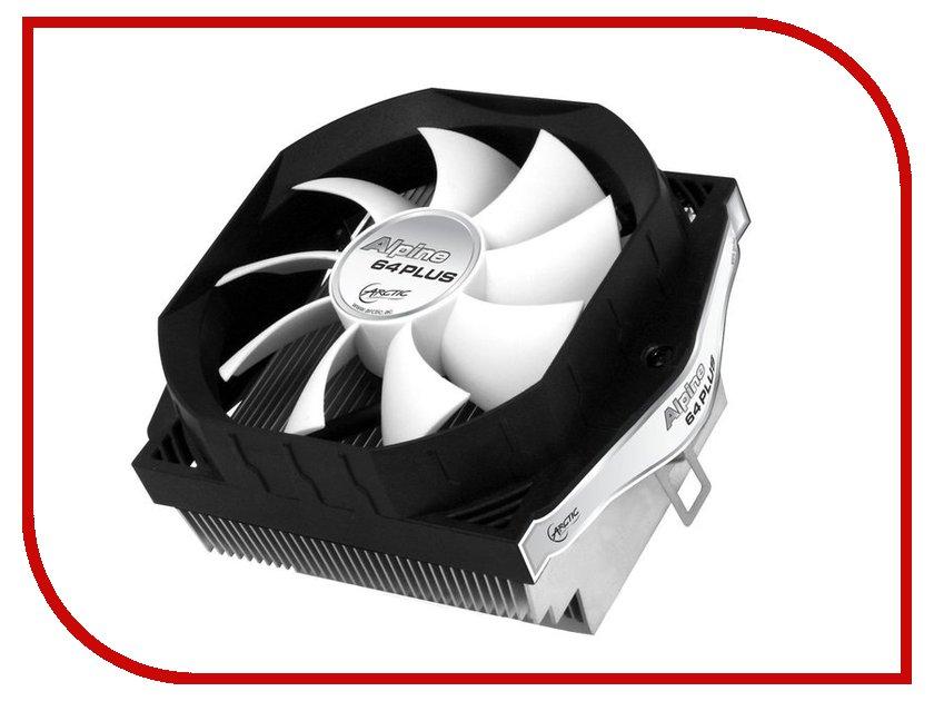 Кулер Arctic Cooling Alpine 64 Plus UCACO-AP60301-BUA01 (SAM2/AM2+/AM3/AM3+/FM1/FM2/S939) кулер для процессора arctic cooling alpine 64 gt rev 2 socket am2 am2 am3 754 939 ucaco p1600 gba01