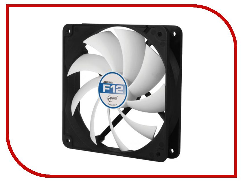 вентиляторы для корпуса AFACO-12000-GBA01  Вентилятор Arctic Cooling F12 AFACO-12000-GBA01 120mm