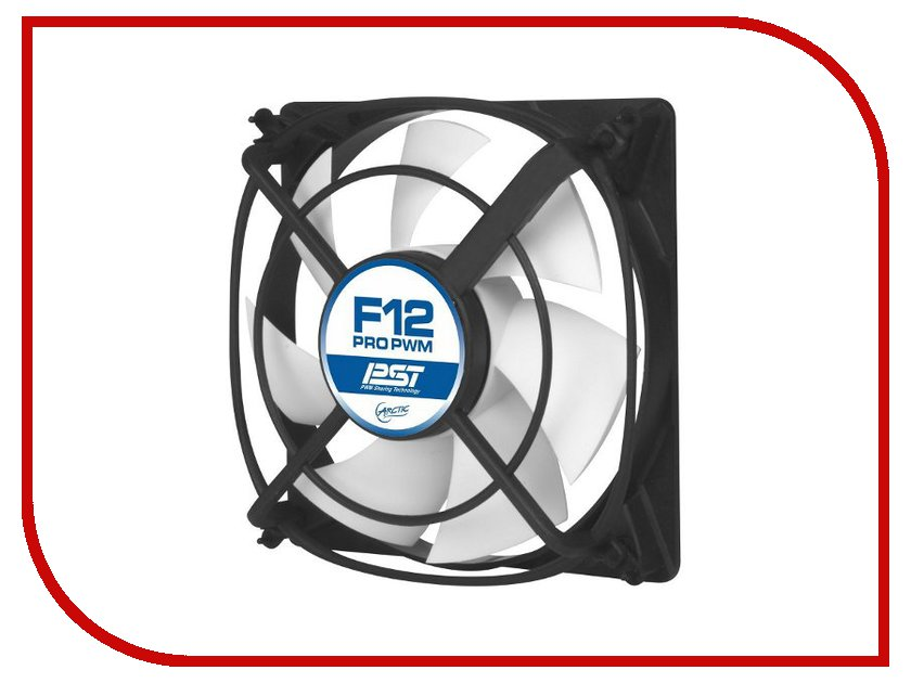Вентилятор Arctic Cooling F12 Pro PWM PST- AFACO-12PP0-GBA01 120mm вентилятор arctic cooling f12 pwm rev 2 afaco 120p2 gba01 120mm