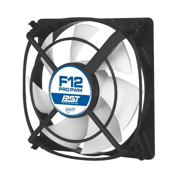 Вентилятор Arctic Cooling F12 Pro 120mm PWM PST-AFACO-12PP0-GBA01 / AFACO-12PR0-GBA01