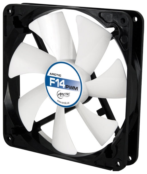 Вентилятор Arctic Cooling F14 140mm PWM PST AFACO-140P0-GBA01