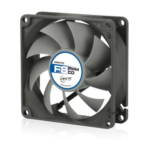 Вентилятор Arctic Cooling F8 80mm PWM PST AFACO-080PC-GBA01